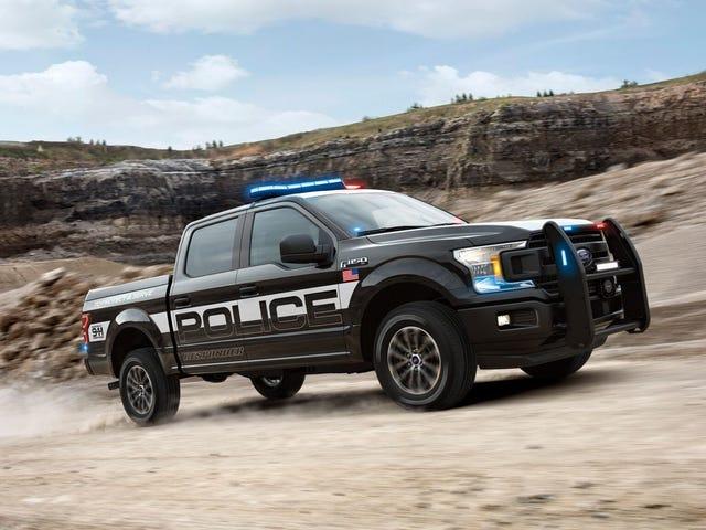 Den nye Ford F-150 Police Responder er en politibil som kan håndtere lasten av loven