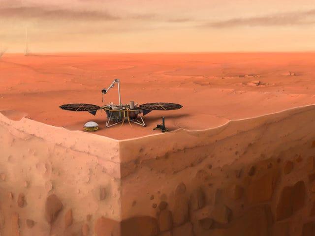 Mayroong Lalo pang Nangyayari sa loob ng Mars kaysa Kilala Namin