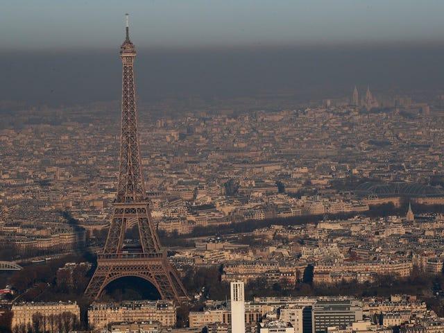 París forbydes til at udleje køretøjer, der er forsynet med gasolie, og som er forsynet med en del af 2030
