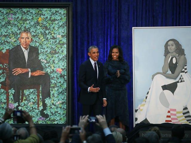 Официальное открытие Барака и Мишель Обамы было сияющим моментом черной истории