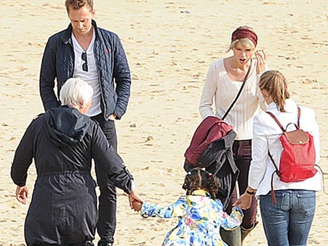 Taylor Swift wreszcie spotkał wszystkich w Anglii