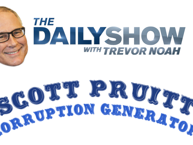 El nuevo generador de escándalos de Scott Pruitt es demasiado real