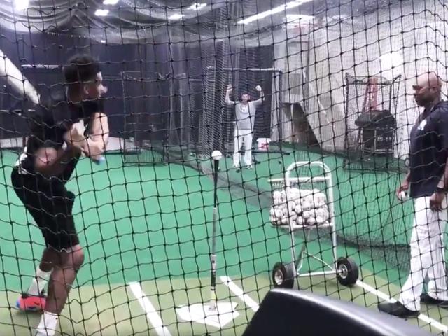 Giannis Antetokounmpo Sucks Real Bad At Baseball