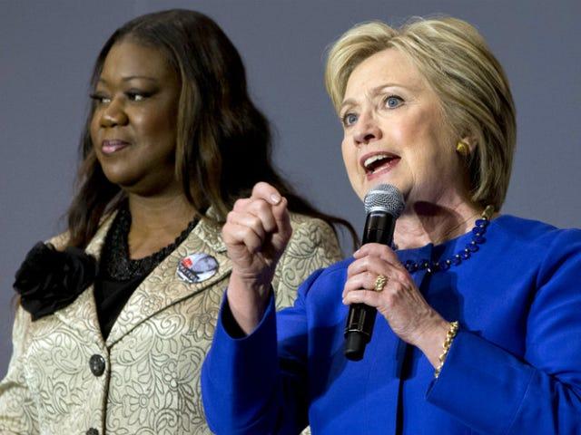 트레이 본 마틴 (Trayvon Martin)과 조던 데이비스 (Jordan Davis), 클린턴 지지자, 샌프란시스코 '게토'비평 논평