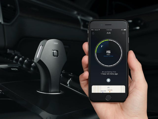 The Ultra-Smart ZUS USB Car Charger Is Just $22 For Black Friday