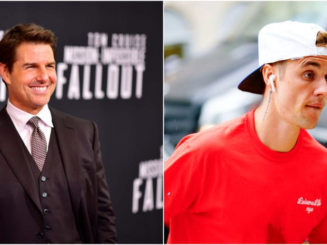Justin Bieber wycofuje się z walki z Tomem Cruise'em, pozbawiając nas wszelkiej rozrywki