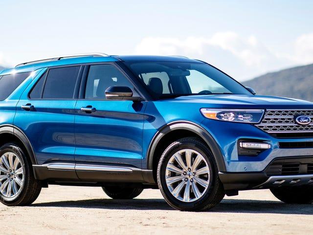 Ecco esattamente quanto il 2020 Ford Explorer salterà nel prezzo