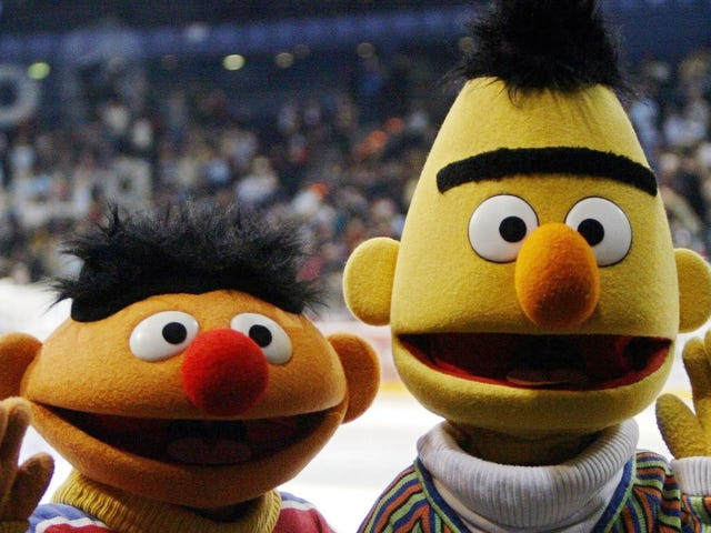 Bert and Ernie Are Prob a Little Gay, But Also Puppets