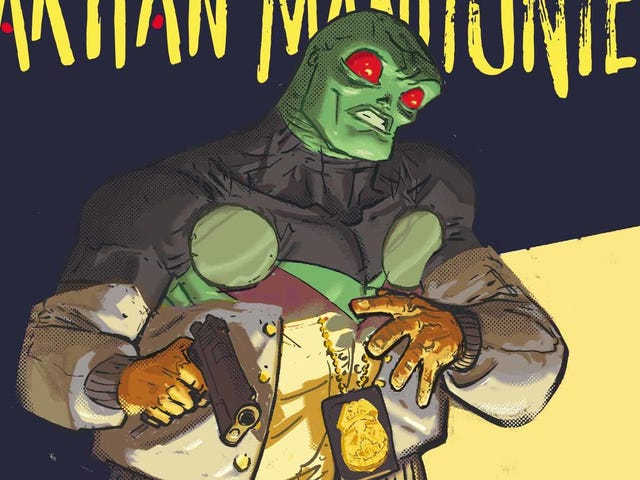 Martian Manhunter feels the burn in this exclusive preview