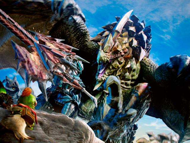 Giant Monster Diaries: Monster Hunter 4 Ultimate Demo Impressions