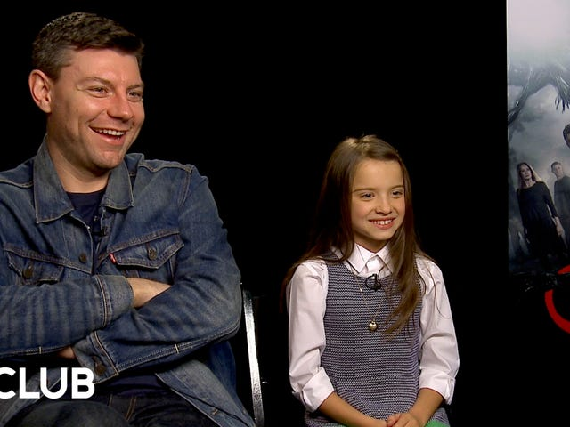 Outcast's Patrick Fugit and Madeleine McGraw love to scare the crap out of each other on set