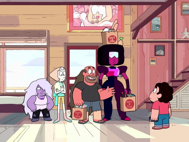 Steven Universe comes back down to Earth in a pair of muted episodes