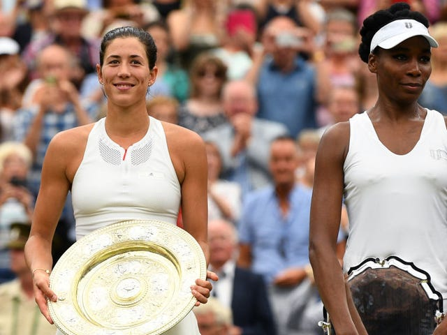 Garbine Muguruza uppmanar Venus Williams att vinna Wimbledon Final