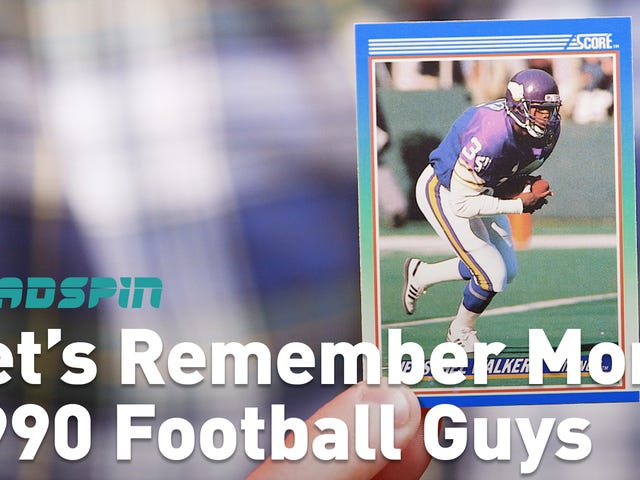 Let's Remember Some Guys: More 1990 Score Football Guys