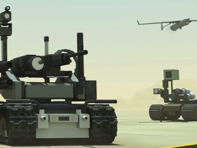 Ο ΟΗΕ θα συζητήσει αν θα απαγορεύσει τα ρομπότ δολοφόνων