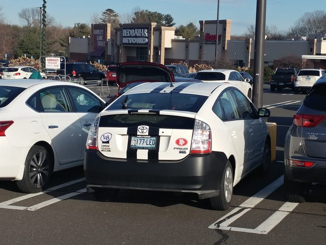 Prius RS? The stripes make it ::sporty::