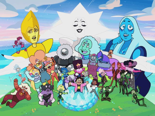 Steven Universe Has a Futuristic New Name and Opening Sequence