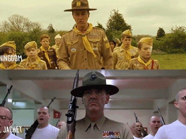 Στιγμιότυπα ταινιών Side-by-Side με άλλες λήψεις ταινιών που φαίνονται ακριβώς το ίδιο