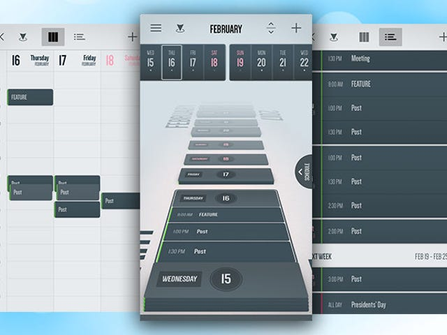 Vantage Calendar Is a More Visual Way to View Your Calendar