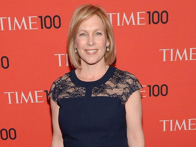 Skeevy Senators Called Sen. Kirsten Gillibrand 'Porky,' Felt Her Up