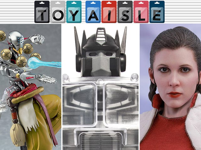 Good Robots, Dead Robots, and an Excellent Princess Leia Are Among the Best Toys of the Week