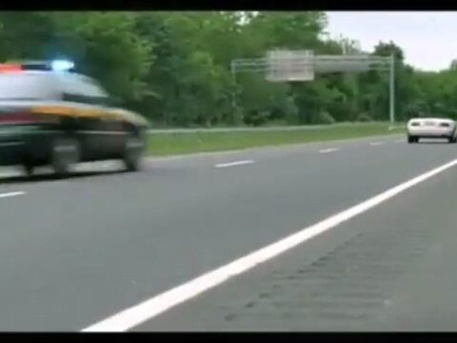 I call BS on the opening chase in Super Troopers.