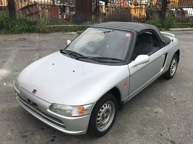 Por $ 6,000, ¿podría vencer a este Honda Beat 1991?
