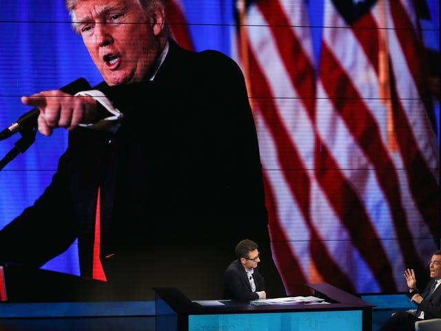 El canal de noticias favorito de Trump no es lo que piensas ... y deberías preocuparte