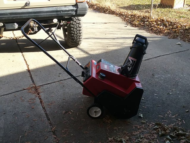 Free snowblower?