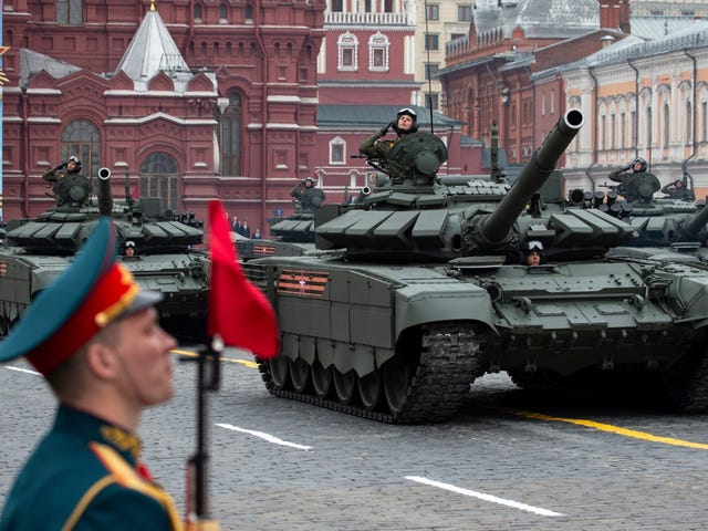 Russia's Giant World War II Victory Parade Has Been Postponed Because Of The Pandemic