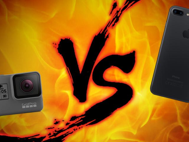 Action Camera Showdown: GoPro vs Smartphones