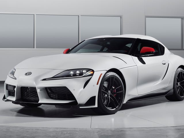 The 2020 Toyota Supra Just Got an EPA Rated 26 MPG Combined