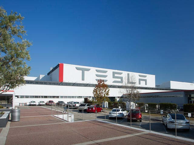 Tesla Adds Third Assembly Line In A Tent Outside Its Huge Factory