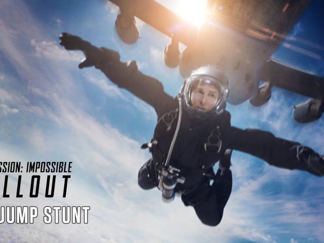 Hepimiz sadece sadece bir ekstra-zor Skydiving dublör yapmak Tom Cruise bu aptal Video tadını çıkarın