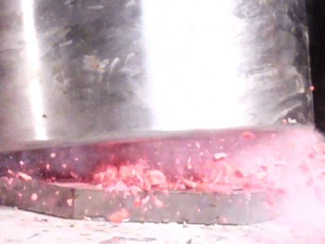 Here's Some Clay Smashed, Burned and Dipped in Liquid Nitrogen