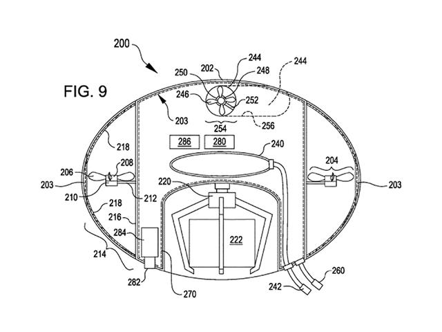 Bizzarra domanda di brevetto Amazon suggerisce droni simili a meduse per i magazzini