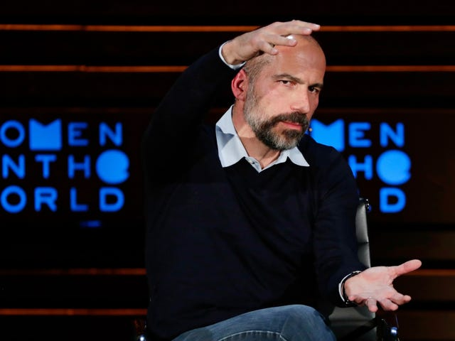 Uber's Dara Khosrowshahi Tries Giving 'the D' to Coworkers