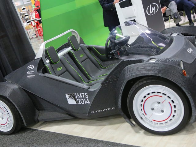 ​3D-Printed Car Factories Are Coming This Year