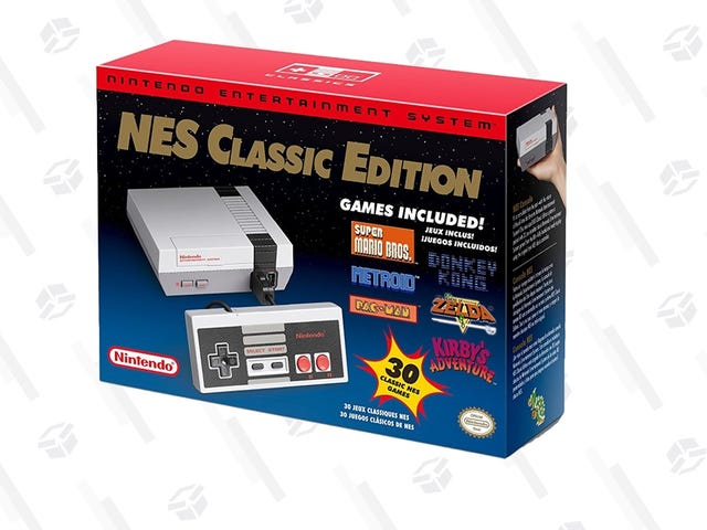 Amazon Has the NES Classic In Stock For $60, With Delivery As Soon As Tomorrow