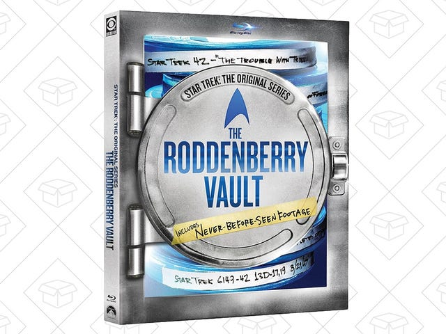 Go Where No Star Trek Fan Has Gone Before With the Roddenberry Vault For $30