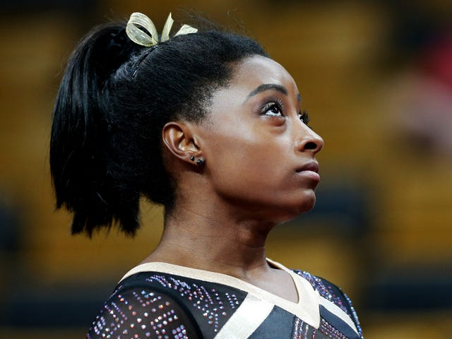 Simone Biles Has All The Power, And She Knows It
