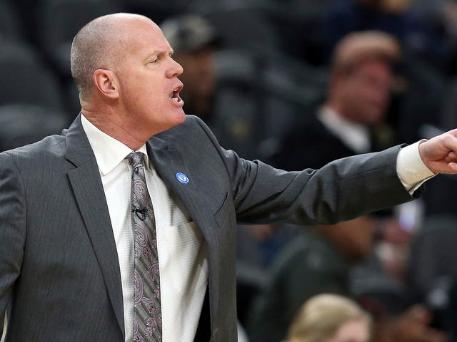 Colorado Coach Tad Boyle Injures Leg While Breaking Up Scuffle After Late-Game Dunk