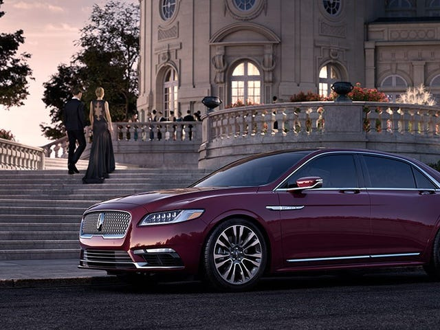The 2017 Lincoln Continental Will Make America Great Again Starting At $45,485