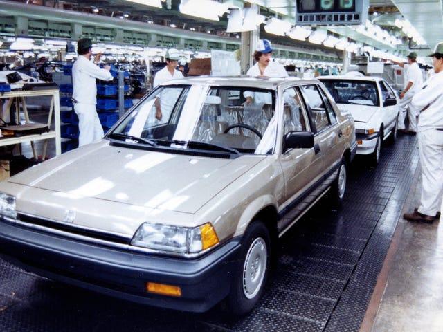 L'usine massive de l'Ohio de Honda a augmenté alors que General Motors tombait