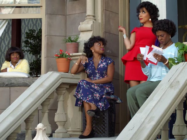 A Black Lady Sketch Show Trailer Features 'Flintstone Dick' and a Bad Bitch Support Group