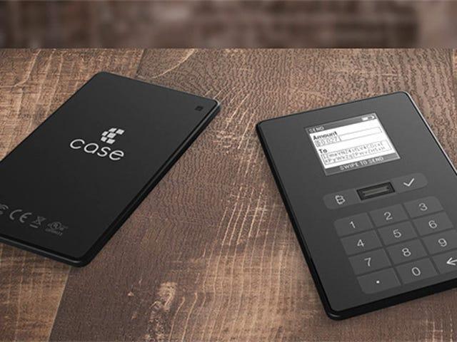 물리적 Bitcoin Wallet은 비 디지털 포켓에 동전을 넣을 것입니다.