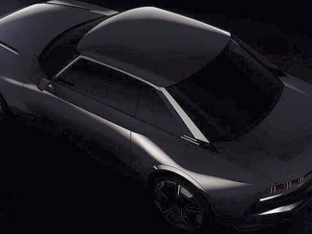 Peugeot Is Cooking Up a Cool Looking Retro Concept