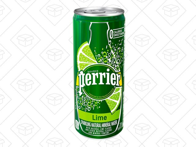 Gulp Down The Classiest of Sparkling Waters For 45 Cents Per Can