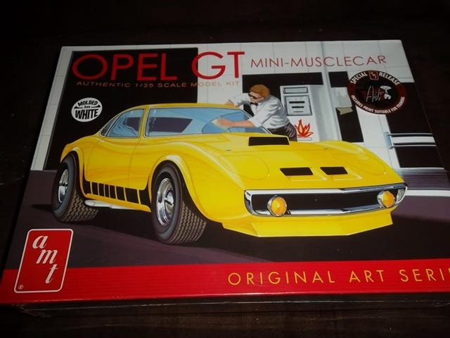 Speaking of Acquisitions - Opel GT Kit