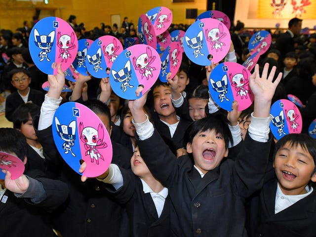 Will Japan's Olympic Mascot Be ASoohorang Or An Izzy?